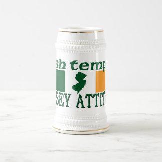 IrishTemper Jersey Attitude Beer Stein