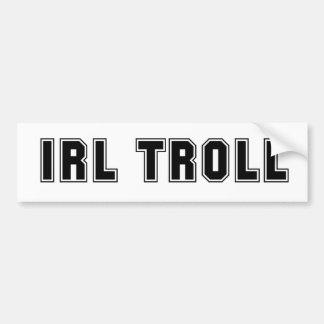 IRL Troll Bumper Sticker