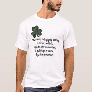 Irlandais buvant disant 1 - T-shirt