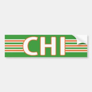 Irlandais de Chicago Autocollant De Voiture