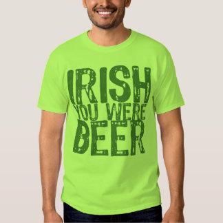 Irlandais de NSPBdtxt vous étiez T-shirt de vert