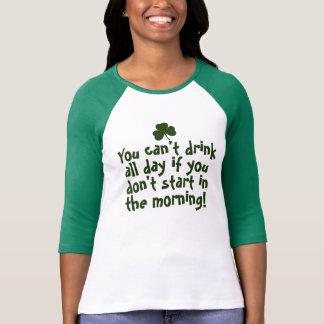 Irlandais drôle de Jour de la Saint Patrick T-shirt