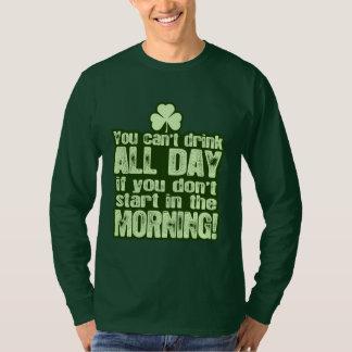 Irlandais du jour de St Patrick drôle Tshirts