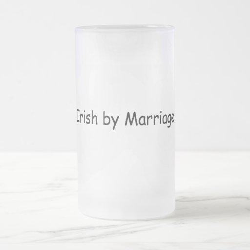 Irlandais par mariage mugs à café