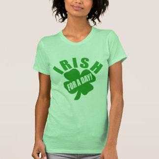 Irlandais pendant un jour ! t-shirt