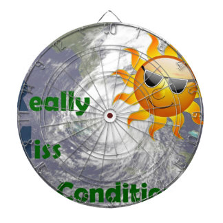 IRMA- I Really Miss Air Conditioning Dartboard