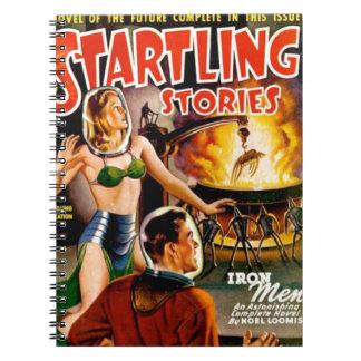Iron Aliens Notebooks