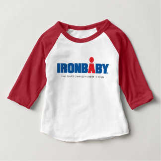 Iron Baby 3/4 Sleeve T-Shirt