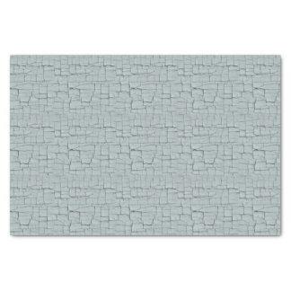 Iron Blue Crackle Paint Tissue Paper