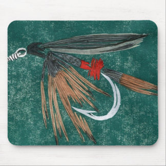 """Iron Blue Dun"" Trout Fly Mousepad"