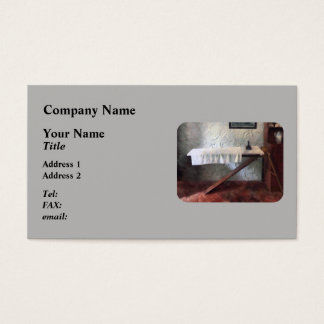 Iron Board and Iron Business Card