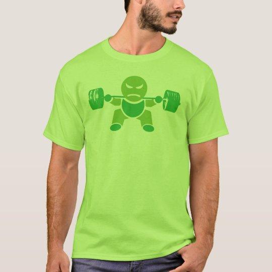 Iron Boy Bodybuilding - Squat - Green - Shirt