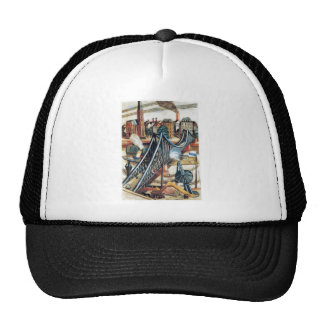 Iron Bridge by Max Beckmann Trucker Hat