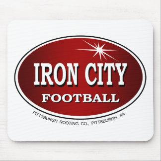 IRON CITY FOOTBALL Pittsburgh Style ~ Mousepad