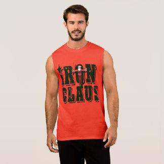 Iron Claus / Santa Cross Sleeveless Shirt