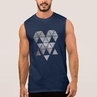 Iron creepy face men's sleeveless t-shirt HQH