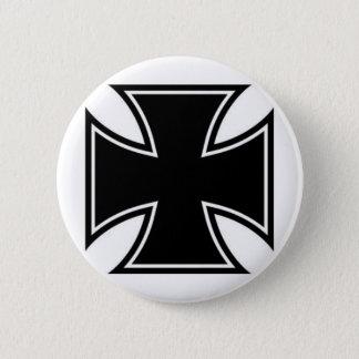 Iron Cross 2 Inch Round Button