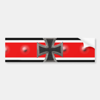 Iron Cross Bumper Sticker