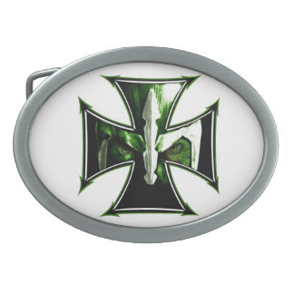 Iron Cross Knight Belt Buckle
