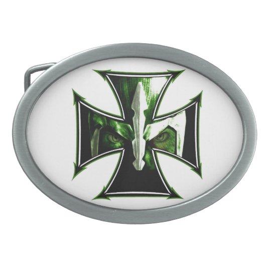 Iron Cross Knight Belt Buckle