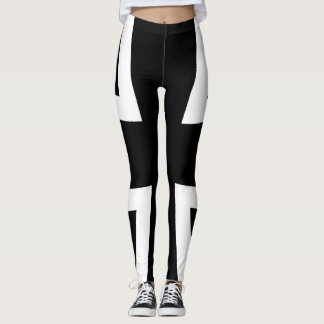 Iron Cross Macro-Design Women's Leggings