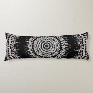 Iron Cross Mandala Body Pillow
