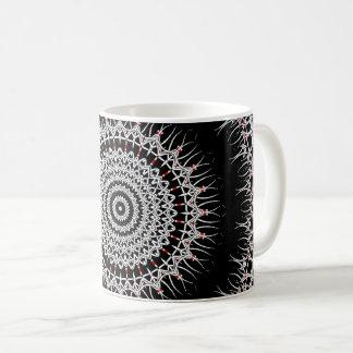 Iron Cross Mandala Coffee Mug