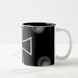 Iron Cross Two-Tone Coffee Mug