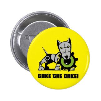 Iron Dog 2 Inch Round Button