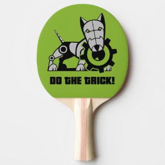 Iron Dog Ping Pong Paddle