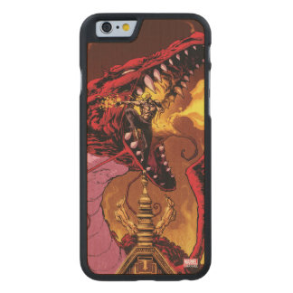 Iron Fist And Shou-Lau Carved Maple iPhone 6 Case