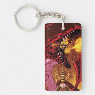 Iron Fist And Shou-Lau Double-Sided Rectangular Acrylic Keychain
