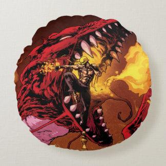 Iron Fist And Shou-Lau Round Pillow