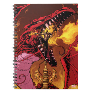 Iron Fist And Shou-Lau Spiral Notebook