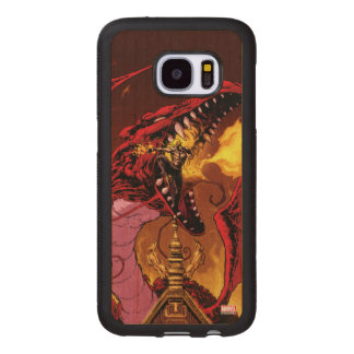 Iron Fist And Shou-Lau Wood Samsung Galaxy S7 Case