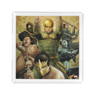 Iron Fist And The Immortal Weapons Acrylic Tray