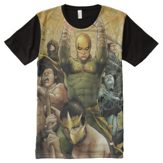 Iron Fist And The Immortal Weapons All-Over-Print T-Shirt