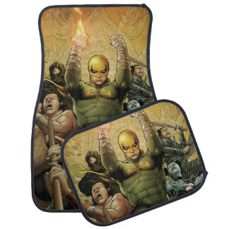 Iron Fist And The Immortal Weapons Car Mat