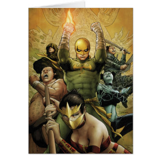Iron Fist And The Immortal Weapons Card