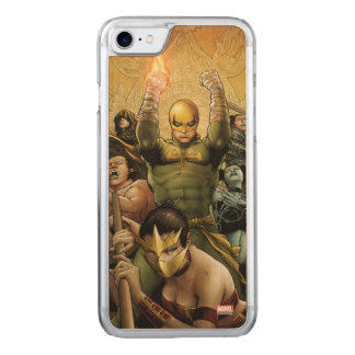 Iron Fist And The Immortal Weapons Carved iPhone 8/7 Case