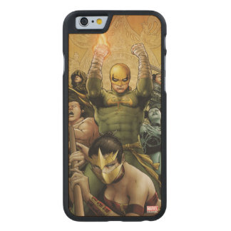 Iron Fist And The Immortal Weapons Carved Maple iPhone 6 Case