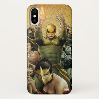 Iron Fist And The Immortal Weapons iPhone X Case
