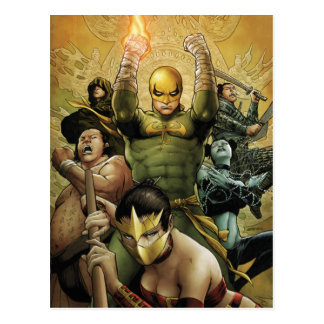 Iron Fist And The Immortal Weapons Postcard
