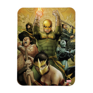Iron Fist And The Immortal Weapons Rectangular Photo Magnet