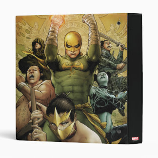 Iron Fist And The Immortal Weapons Vinyl Binder