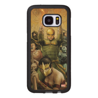 Iron Fist And The Immortal Weapons Wood Samsung Galaxy S7 Case