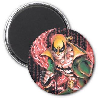 Iron Fist Chi Dragon 2 Inch Round Magnet