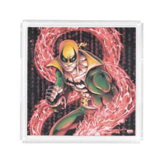 Iron Fist Chi Dragon Acrylic Tray