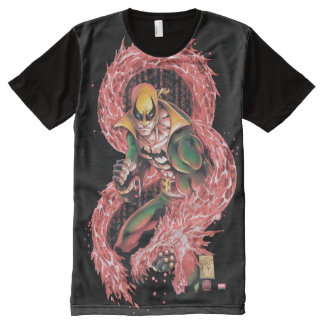 Iron Fist Chi Dragon All-Over-Print T-Shirt