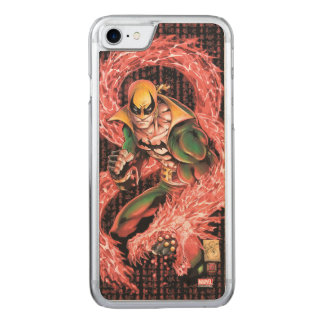 Iron Fist Chi Dragon Carved iPhone 7 Case